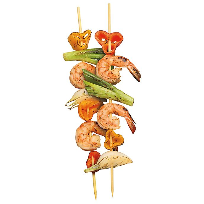 Alternate image 1 for Bradshaw Good Cook 100-Pack 12-Inch Bamboo Skewers