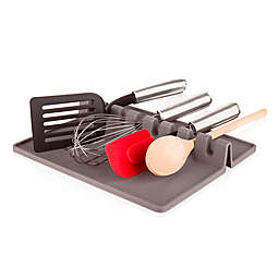 Tomorrow's Kitchen XL Utensil Rest in Grey