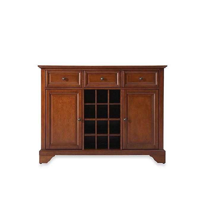 Inspiring Second Hand Cabinets 4 Dark Cherry Kitchen: Buy Crosley LaFayette Buffet Server/Sideboard Cabinet In