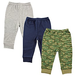 Luvable Friends® 3-Pack Tapered Ankle Pants in Camo