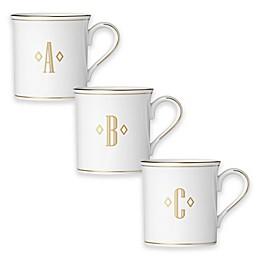 Lenox® Federal Gold™Monogrammed Block Letter Mug