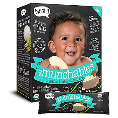 Nosh!™ Simply Rice Baby Munchables