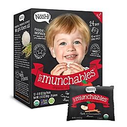 Nösh! Tot Munchables™ 12-Pack Organic Rice Cakes in Apple Cinnamon