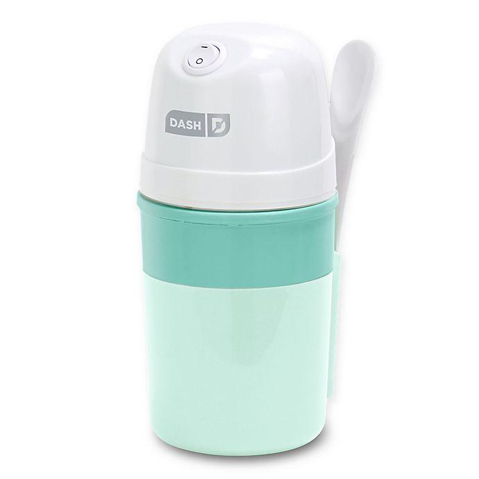 Alternate image 1 for DASH™ My Pint Ice Cream Maker in Aqua
