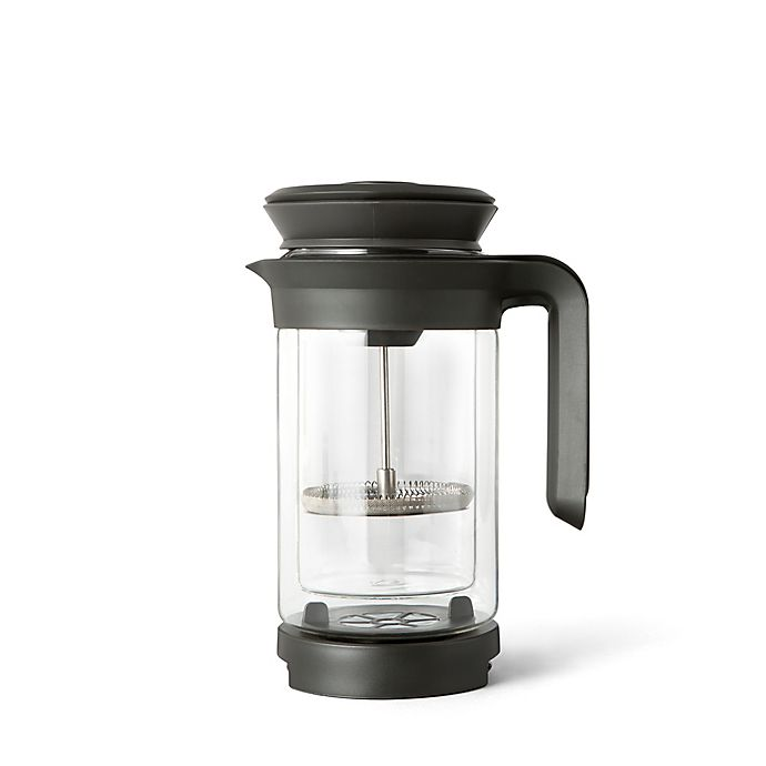 Alternate image 1 for Chef'n® 3-in-1 Craft Coffee Brewer in Grey/Clear