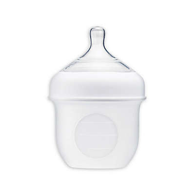 Boon NURSH™ Silicone Pouch Bottle in White