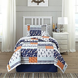 Lullaby Bedding Away At Sea Quilt Set