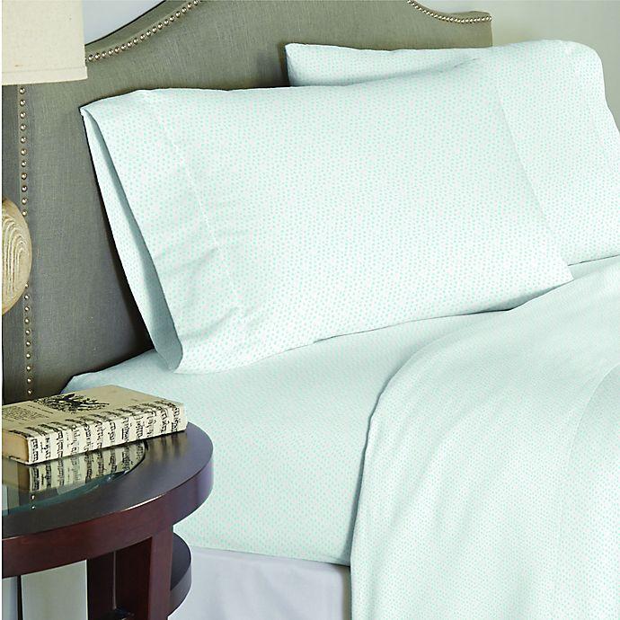 Alternate image 1 for Lullaby Bedding Unicorn Full Sheet Set in White/Green