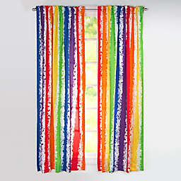 Learning Linens Brain Waves 84-Inch Window Curtain Panel
