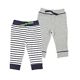Yoga Sprout 2-Pack Tapered Ankle Pants in Navy/Green