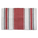 Rue Montmartre Bistrot 100% Cotton Placemats in Red (Set of 4)