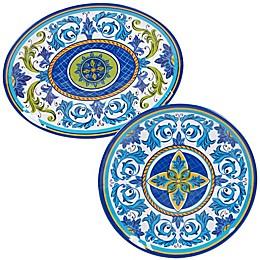 Certified International Lucca 2-Piece Platter Set
