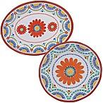 Certified International Vera Cruz 2-Piece Platter Set