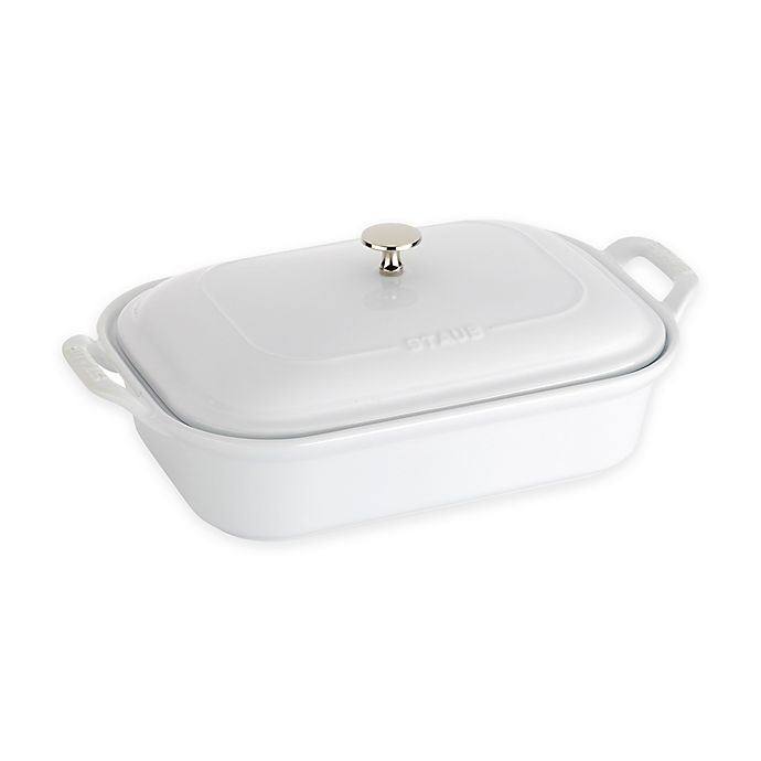 Alternate image 1 for Staub® 4 qt. Rectangular Covered Baking Dish