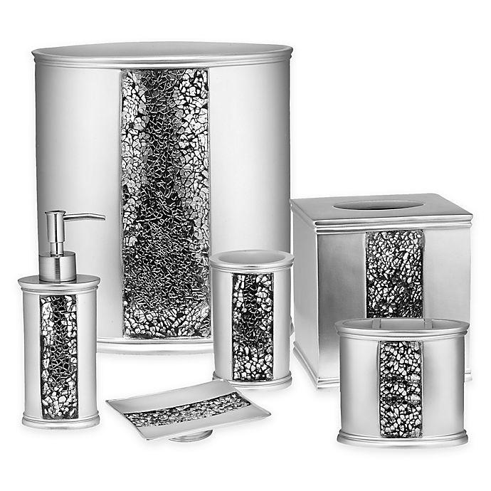 Popular Bath Sinatra Accessory, Silver Bathroom Accessories Sets