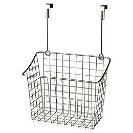 Spectrum® Steel Grid Large Over-the-Door Basket