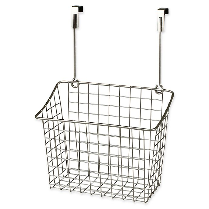 Alternate image 1 for Spectrum® Steel Grid Large Over-the-Door Basket