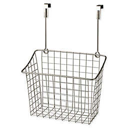 Spectrum® Steel Grid Large Over-the-Door Basket