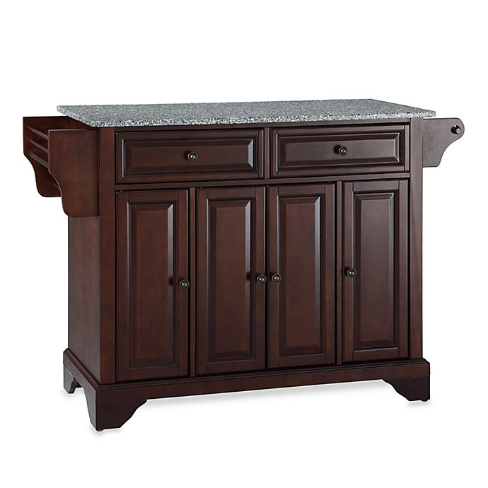 Crosley Kitchen Island: Crosley LaFayette Granite Top Kitchen Island