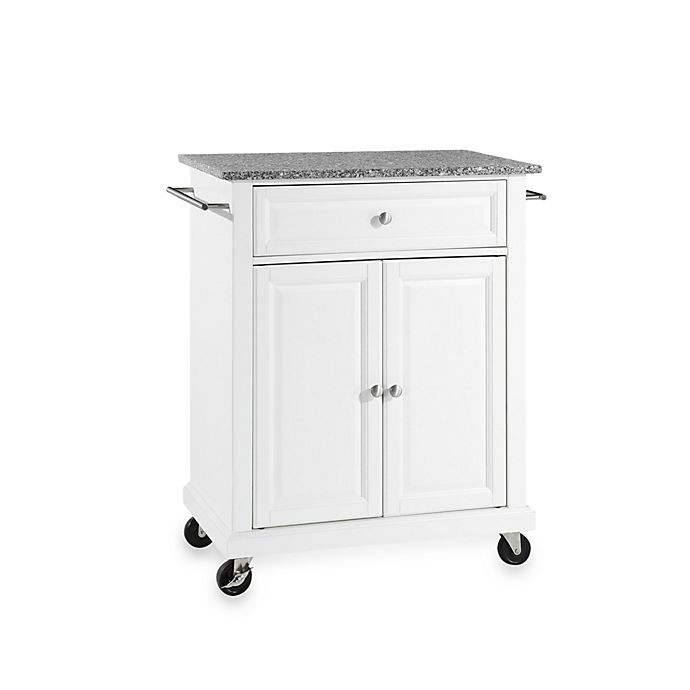 View A Larger Version Of This Product Image Click To Zoom Alternate 1 For Crosley Granite Top Rolling Portable Kitchen Cart Island