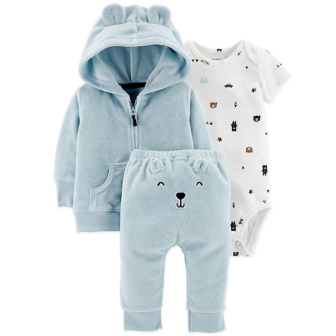 Carter S 174 3 Piece Jacket And Pants Set Buybuy Baby