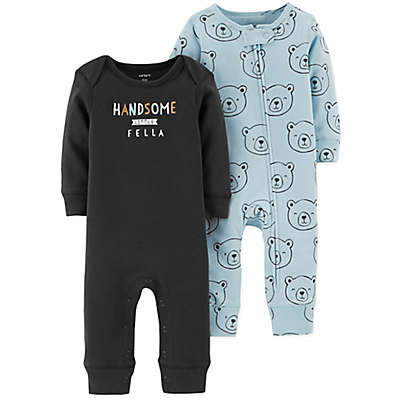 carter's® 2-Pack Handsome Bear Coveralls