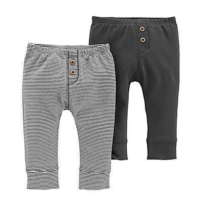 carter's® 2-Pack Pull-On Pants in Black