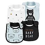 carter's® 4-Pack Bear Bibs