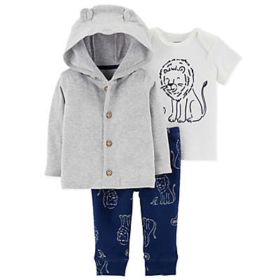 carter's® 3-Piece Lion Hoodie, Shirt, and Pant Set