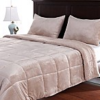Berkshire Velvetloft® Reversible Full/Queen Comforter Set in Linen