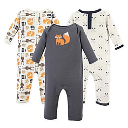 Hudson Baby® 3-Pack Perfect Forest Union Suit