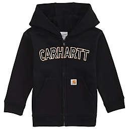 Carhartt® Fleece Full-Zip Hoodie in Black