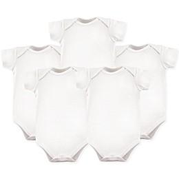 Hudson Baby® 5-Pack Bodysuits in White