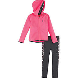 8441581a2840 Under Armour® 2-Piece Shattered Microfleece Hoodie and Legging in Pink