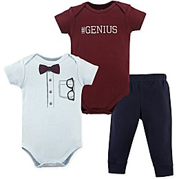 Little Treasure 2-Piece Glasses Bodysuit and Pant Set