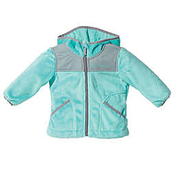 Free Country Butter Pile Fleece Hooded Jacket in Aqua