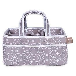 Trend Lab® Circles Storage Caddy in Grey/White