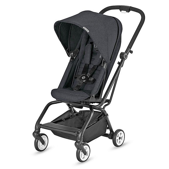 Alternate image 1 for CYBEX Eezy S Twist Stroller in Lavastone Black