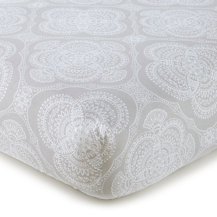 Alternate image 1 for Levtex Baby® Willow Medallion Fitted Crib Sheet