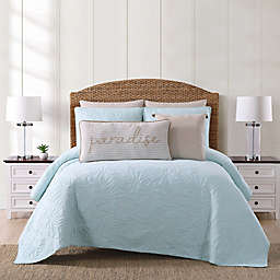 Oceanfront Resort Chambray Coast Quilt Set