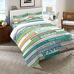 Laural Home® Ocean Rules Comforter