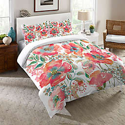 Laural Home® Bohemian Poppies Comforter