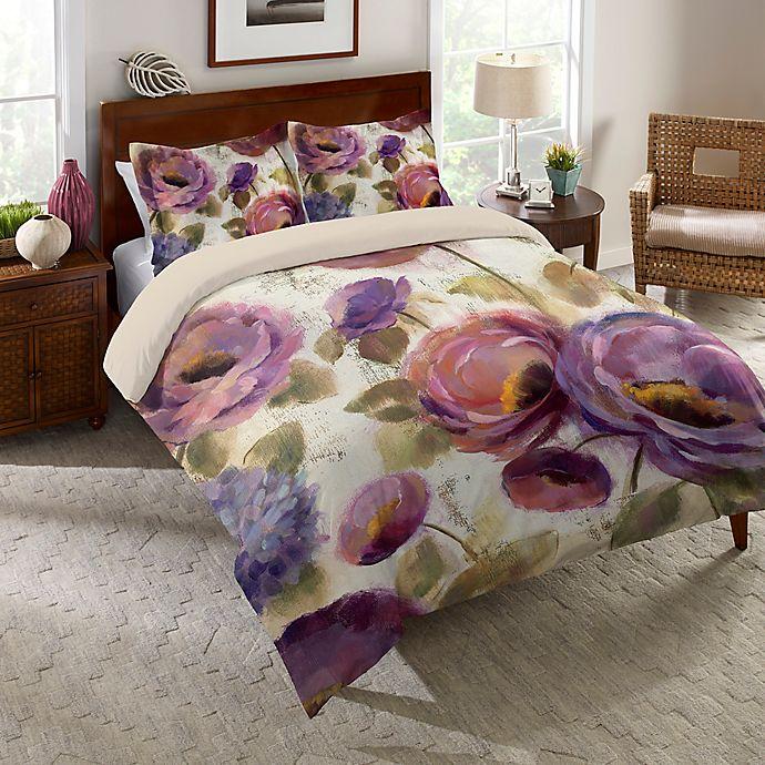 Alternate image 1 for Laural Home® Flower Song Comforter