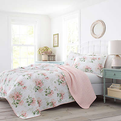 Laura Ashley® Honeysuckle Quilt Set