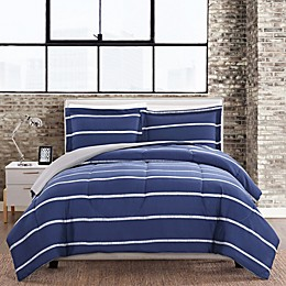 Simple Stripe 3-Piece Comforter Set