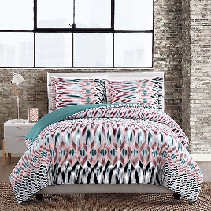 Alternate image 1 for Nomad Geometric 3-Piece Comforter Set