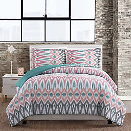 Nomad Geometric 3-Piece Comforter Set