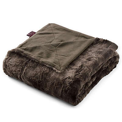 Brielle Faux Fur Throw