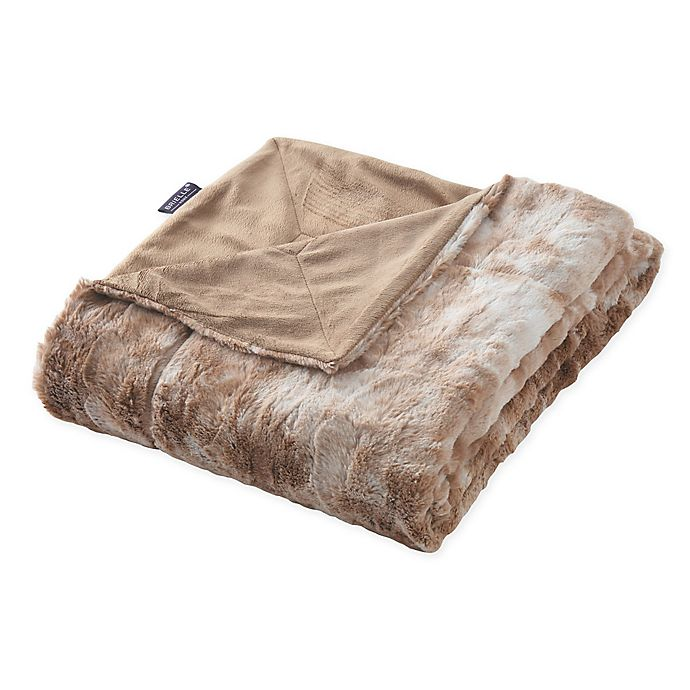 Alternate image 1 for Brielle Faux Fur Throw