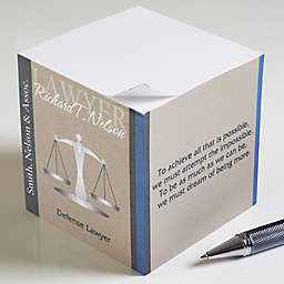 Legal Ease Inspiring Quotes Paper Note Cube